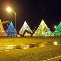 Parque Ipiranga Decorado Para o Natal, Анаполис