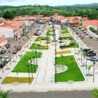 Vista frontal da Praça São Francisco de Assis, Бакабаль