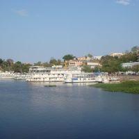 Corumbá - Cais no Rio Paraguai., Корумба
