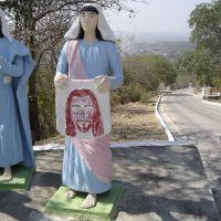 Via Crucis (Izulina Xavier) - subida do morro do Cruzeiro, Corumbá, MS, Brasil., Корумба