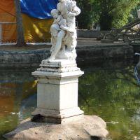 Uma das quatro estações do ano, esculpida em mármore de Carrara - Corumbá/MS, Корумба