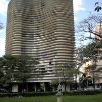 Chafariz e edifício (proj.Oscar Niemeyer), Praça da Liberdade, Belo Horizonte, MG, Brasil., Белу-Оризонти