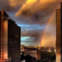 ! __ Chuva no final de tarde com arco-íris, Белу-Оризонти