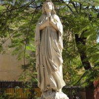 Santa Bernadete? junto a Igreja Nossa Senhora de Lourdes - Belo Horizonte - Minas Gerais - Brasil, Белу-Оризонти