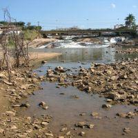 Rio Itapecerica secando, Дивинополис
