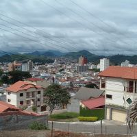 Itajubá - Bairro Oriente e vista do Centro, Итажуба