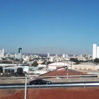 Vista de Uberlândia desde a BR 050, Пассос