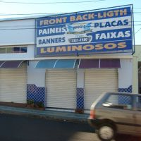 Anjos- Placas,Paineis, Faixas, Banners ....., Убераба