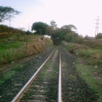 """Linha férrea """"Ferrovia Centro-Atlântica"""" 2, Убераба"""