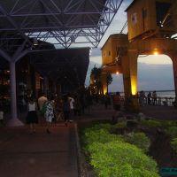 Belém - Estação das docas anoitecendo, Белен