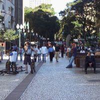 Rua XV - Praça Ozório, Куритиба