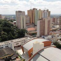 Vista a partir da esquina de Rua Goiás e Avenida São Paulo - Londrina - Paraná - Brasil, Лондрина