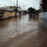 Inundação provocada pelo canal do Bultrins, Олинда