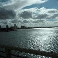 Vista da cidade de Petrolina PE sob a ponte, Петролина