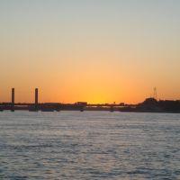 Pôr-do-sol no rio São Francisco, Петролина