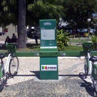 Ponto das bicicletas na praça Dom Malan, Петролина