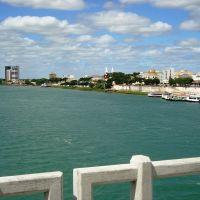 Juazeiro - BA vista de cima da ponte, Петролина