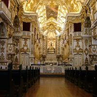 Interior da Nossa Senhora do Carmo da Antiga Sé - Rio de Janeiro - Brasil - by LAMV, Кампос