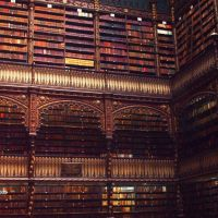 Inside the Royal Portuguese Library (Real Gabinete Português de Leitura), Масау