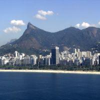 Flamengo & Cristo Redentor, Rio de Janeiro, RJ, Brasil., Масау