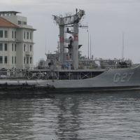 Navio tanque (marinha) e ilha das Cobras, Rio de Janeiro, RJ, Brasil., Масау