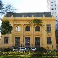 Edifício dos Correios e Telégrafos. Petropólis, RJ., Петрополис