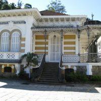 Chalé na rua da Imperatriz. Petropólis, RJ., Петрополис