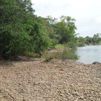 o  paraiso  é  aqui , no  rio  jacui, Алегрете