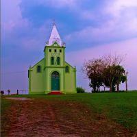 Hurricane approaching behind the church, Алегрете