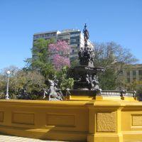 Chafariz na Praça Cel. Pedro Osório - Pelotas - RS - BRASIL - out/2008, Пелотас