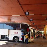 Embarque no terminal rodoviário - Pelotas - RS, Пелотас