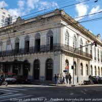 Palacete Braga (1871) - Clube Comercial de Pelotas. Prédio histórico em Pelotas (RS), Пелотас