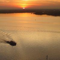 Pôr do sol no Guaíba, Порту-Алегри
