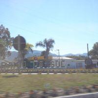 Letreiro da cidade de Paraiso do Sul., Рио-Гранде