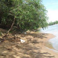 barranco  do  rio  jacui- restinga  seca, Рио-Гранде