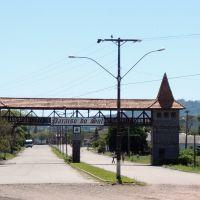 Pórtico da cidadezinha de Paraíso do Sul/RS (By Sílvia Schuma), Сантана-до-Ливраменто