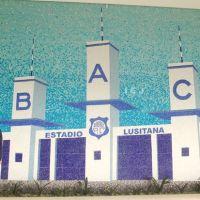 Mosaico em pastilha - BAC, Бауру