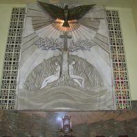 Detalhe atras do altar da Catedral de Bauru, Бауру