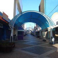 Rua Batista de Carvalho ( Calçadão )  Bauru SP, Бауру