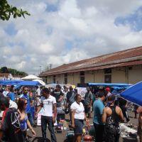 Feira do rolo  rua Julio Prestes - Bauru SP, Бауру
