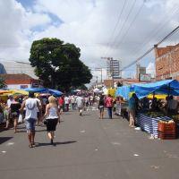 Feira livre  rua Gustavo Maciel  Bauru SP  Brasil, Бауру