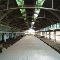 Visão da Estação de Trem de Bauru/patrimônio esquecido e não preservado., Бауру