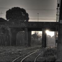 Ponte antiga, vista da R. Antônio Alves, Бауру