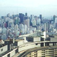 São Paulo (desde o Edifício Itália), Brasil., Бебедоуро