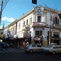 Casas de comércio na Rua Visconde do Rio Branco X Rua Quintino Bocaiúva, Жау