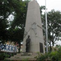 Monumento ao Comandante Barros em Jaú Praça da Matriz, Жау