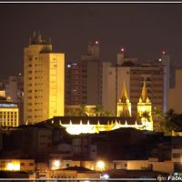 Zoom centro de Jundiaí - Foto: Fábio Barros (www.cidade3d.uniblog.com.br), Жундиаи