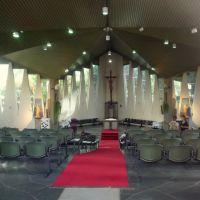 Interior da Paróquia São Paulo apóstolo, Кампинас