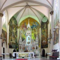 Interior da igreja, Кампинас