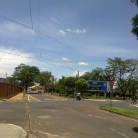 Ruas do bairro Bela Vista - Catanduva-SP em 06/01/2012, Катандува
